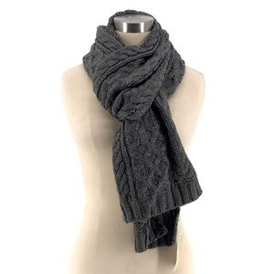 Michael Kors Chunky Cable Knit Scarf